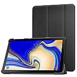 MoKo Cover per Samsung Galaxy Tab S4 10.5 SM-T830N/T835N,Ultra Sottile Leggero Supporto Custodia per Samsung Galaxy Tab S4 10.5 SM-T830N/T835N Tablet(Auto Sveglia/Sonno), Nero