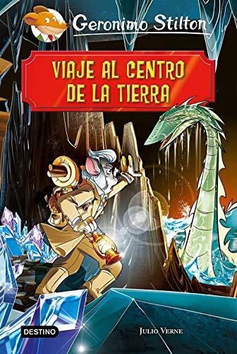 Viaje al centro de la tierra eBook: Geronimo Stilton, Miguel ...