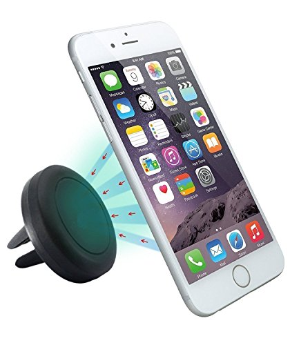 Zactech Universal Air Vent Magnetic Car Mobile Phone Suction Mount Holder