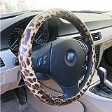 Alta calidad ultra-fine Wild de piel de leopardo Funda para volante
