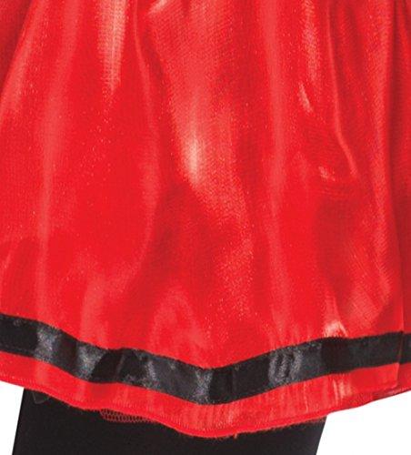 Damen Sexy Rotkäppchen Märchen Damen Fancy Dress Outfit (Uk Kostüm Red Riding Little Hood)