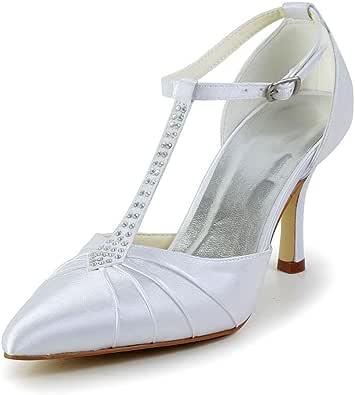 JIA JIA Wedding A3120 Scarpe Sposa Scarpe col Tacco Donna