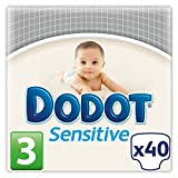 Dodot Windeln Gr. 3-sensitive (4-8 kg) 40 couches-couches