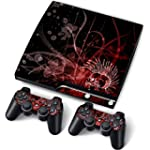 PS3 PlayStation 3 Slim Skin Stickers...