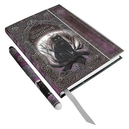Preisvergleich Produktbild Dark Dreams Gothic Wicca Pagan Magie Tagebuch Schattenbuch Katze Mond