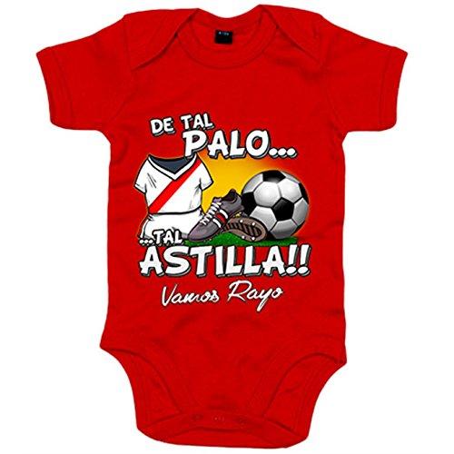 Body bebé De tal palo tal astilla Rayo Vallecano