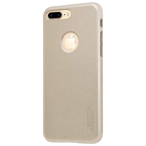 Nillkin Frosted Shield - Housse coque rigide de protection et anti -dérapant + film d'écran pour iPhone 7 Plus - Noir doré