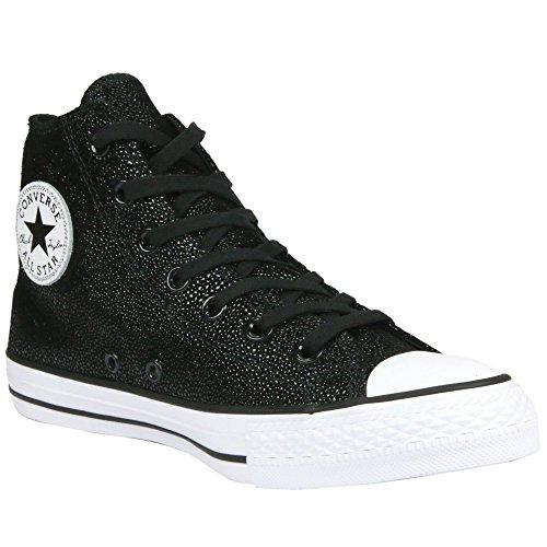 Converse All star HI 553345C Stingray metallic Black/Black white (37)