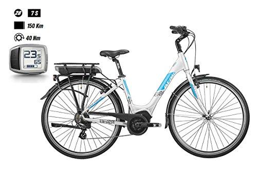 "'Atala Bike b-easy 28""7-v TG. 45Active Plus 300Wh PURION 2018weiß (City Bike Werkzeugset)/Electric Bike b-easy 287-s SZ. 45Active Plus 300Wh PURION 2018White (City E-Bike)"