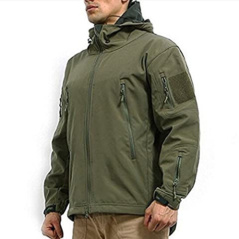 OUMIZHI Militaer Taktische Softshell Jacke outdoor Fleece