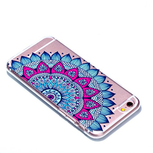iPhone 6S Hülle, iPhone 6 Schutzhülle, MSK Taschen Schalen Flexible TPU Weiche Rückwärtige Schutzhülle Case Für iPhone 6 & iPhone 6S - elegant #A elegant #H