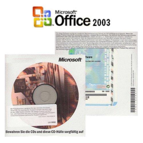Microsoft Office Standard Edition 2003 021-07527