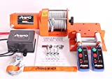 3000Lb 12V Winch Trailer, 4X4, Boat, Quad, Workshop, Two Wireless Remotes