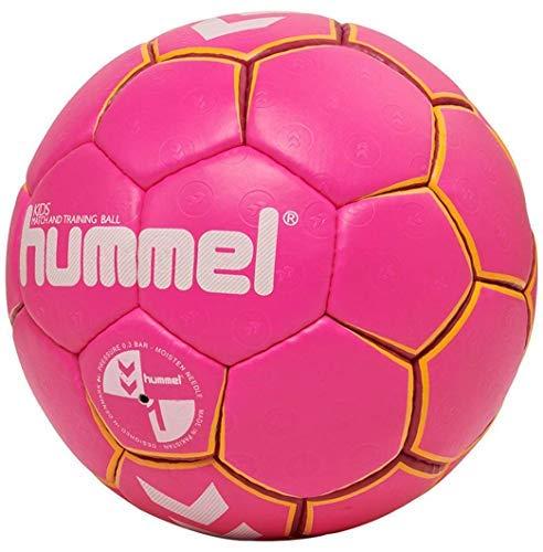 hummel HMLKIDS-Handball für Kinder, Pink/Gelb, 0.0