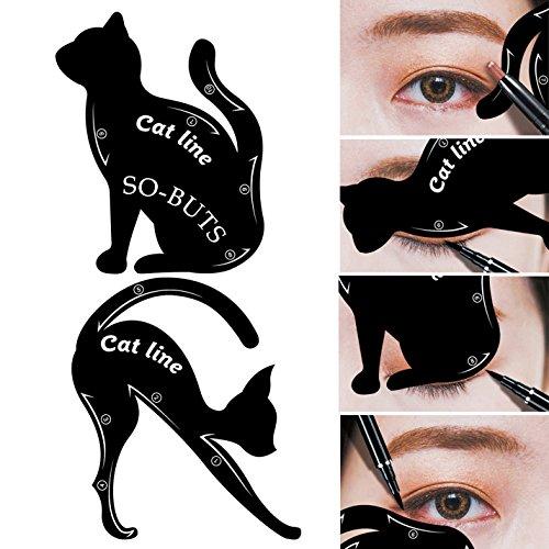 IGEMY 2 herramientas maquillaje tipo línea gato
