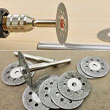 Cutting Disc - Cutting Discs - Rotary Tool Circular Saw Blades Cutting Wheel Discs Mandrel For Cutoff Christmas Gift 6Lez - Glass Cutting Blade
