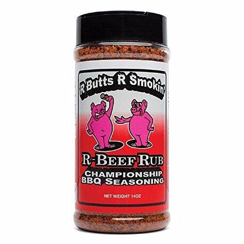 R-Butts-R-Smokin' 'R-Beef Rub' Championship BBQ Rub - 396g (14 oz) -