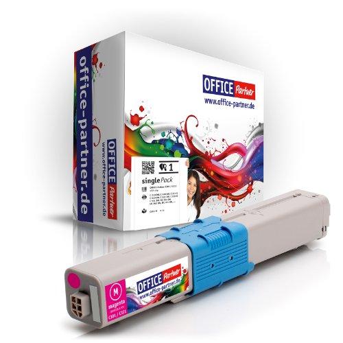 OFFICE-Partner Premium Toner kompatibel zu OKI C310 M magenta für OKI C310DN C330DN C331DN C510DN C511DN C530DN C531DN MC351DN MC352DN MC361DN MC362DN MC561DN MC562DN
