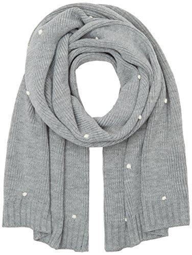 PIECES Damen Schal Pchelena Long Scarf, Grau (Grey Melange), One size