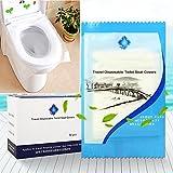 Befitery Reise Wasserdichte Disposable Toilet Cover WC Sitzschutz Sitzauflagen Toilettenbrillen Auflagen Brillenschutz Anti Bakterien für Hotel Outdoor Reisen Universal Toilettensitz