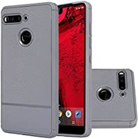 Essential Phone Case,Ultra Thin Soft Silicone Case Resilient Shock Absorption Flexible TPU Protection Cover for Essential Phone Ph-1 (Gray)