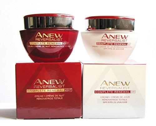 Avon NEU Reversalist komplett Erneuerung: Tagescreme + Nachtcreme Set.