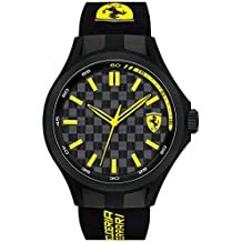 Scuderia Ferrari Analog Black Dial Men's Watch - 0830286