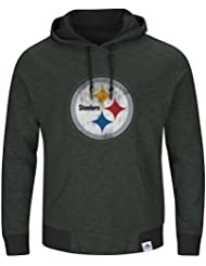 "Pittsburgh Steelers Majestic NFL ""Gameday 2"" Men's Pullover Hooded Sweatshirt Chemise"
