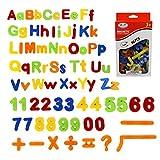 Simuer Magnetische Buchstaben und Zahlen ABC Alphabet Magnete Nummer Spielzeug Fridge Stickers Lernspielzeug für Kinder Geschenk set 80pcs