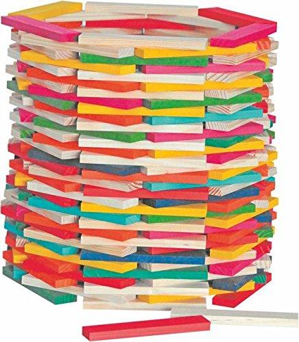 Woodyland Simona Ladrillos de madera (200 piezas)