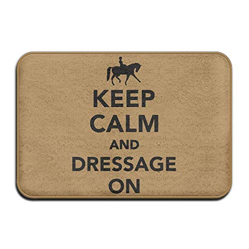 Miedhki Keep Calm Dressage On Non-Slip Indoor/Outdoor