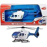Polizeihubschrauber Sky Patrol, mit Heckklappe, Licht und Sound, 36 cm: Polizei Hubschrauber Helikopter Kinder Spielzeug Heli