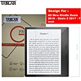Taslar Tempered Glass Screen Scratch Guard Protector for All New Kindle Oasis 2016