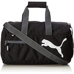 Funda PUMA Fundamentals Sports Bag, Black, 40 x 19 x 20 cm, 15 litros, 073501 01