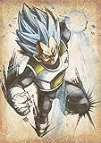 "Poster Dragon Ball ""Wanted"" Vegeta SSB - A3 (42x30 cm)"