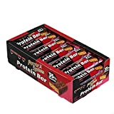 Power System Protein Bar 35% - 24 x 45g (Himbeer-Biskuit)