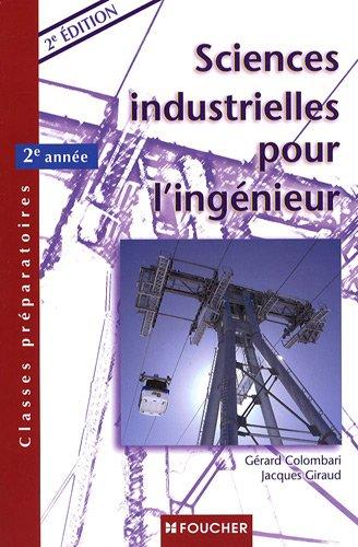 Sciences industrielles pour l'ingénieur : 2e année