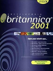 Encyclopedia Britannica Deluxe 2001