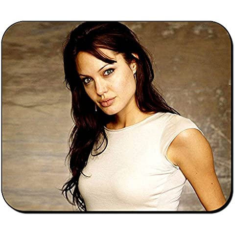 Angelina Jolie B Alfombrilla Mousepad PC