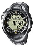 Casio PRW-1200T-7VER - Reloj Digital Unisex de Cuarzo con Correa de Titanio Plateada (altímetro,...