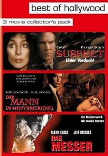 Best of Hollywood - 3 Movie Collector's Pack: Suspect - Unter Verdacht / Der Mann im Hintergrund / Das Messer (3 DVDs)