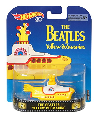 The Beatles Yellow Submarine 1: 64 Hot Wheels