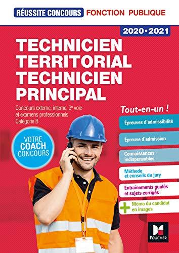 Réussite Concours - Technicien territorial / principal - 2020-2021 - Préparation complète par Christine Drapp