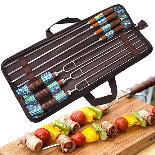 Picknicksets Camping Grill Zubehör Set, Portable BBQ Besteck Grill, Professioneller Garten-Outdoor-Grill-Grillzubehör-Kit Mit Aufbewahrungstasche - Ideales Geschenk