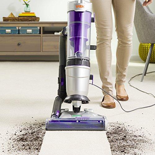Vax Air Lift Steerable Pet Max Vacuum Cleaner, 1.5 Litre, Silver/Purple