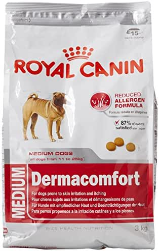 Royal Canin : Croquettes Chien Medium Dermacomfort :3kg