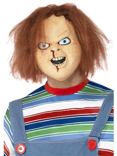 Child 's Play Chucky Kostüm Adult Latex -