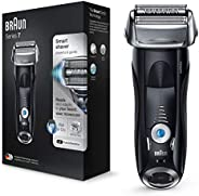Braun Series 7 Electric Shaver for Men 7840s, Wet and Dry, Integrated Precision Trimmer, Rechargeable and Cord