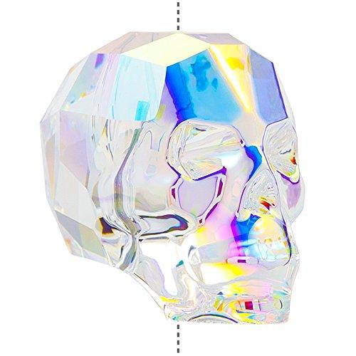 Swarovski 5750�Crystal Skull Bead Crystal AB 19�mm (PK1)