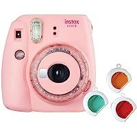 Fujifilm Instax Mini 9 Instant Camera (Clear Pink)